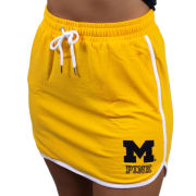 VS PINK University of Michigan Women's Yellow Sport Skirt