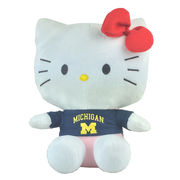 Plushland University of Michigan 11 Hello Kitty Plush Figurine