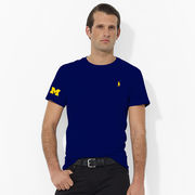 Polo Ralph Lauren University of Michigan Navy Tee
