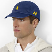Polo Ralph Lauren University of Michigan Navy Chino Baseball Hat