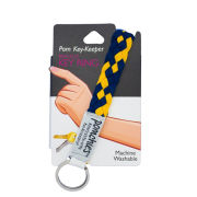 Pomchies University of Michigan Pom Key-Keeper Bracelet Key Ring