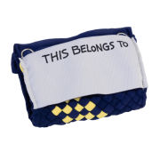 Pomchies University of Michigan Pom-ID Woven Luggage Handle Wrap ID