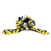 Pomchies University of Michigan Tie-Dye Knotted Hair Scrunchie