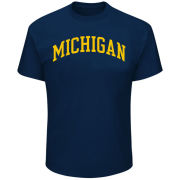 Profile Varsity University of Michigan Big & Tall Navy Basic Tee<br><b>[Big & Tall]</b>