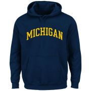 Profile Varsity University of Michigan Big & Tall Navy Basic Hooded Sweatshirt<br><b>[Big & Tall]</b>