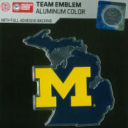Team Promark University of Michigan State of Michigan Aluminum Car Emblem