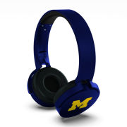 Prime Brands University of Michigan Bluetooth Wireless Stereo Headphones