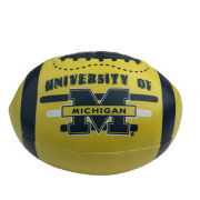 University of Michigan Soft 6 Poly Filled Football