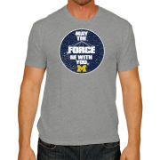 Retro Brand University of Michigan Star Wars ''May The Force Be With You'' Tee