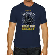 Retro Brand University of Michigan Navy Star Wars Darth Vader Tee