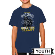 Retro Brand University of Michigan Youth Star Wars Darth Vader Tee
