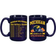 RFSJ University of Michigan Football Orange Bowl Navy Coffee Mug