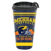 RFSJ University of Michigan Football Orange Bowl Travel Mug
