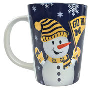 RFSJ University of Michigan Sublimated Snowman Latte Mug