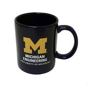 RFSJ University of Michigan Engineering Navy Coffee Mug