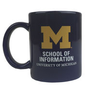 RFSJ University of Michigan School of Information Navy Coffee Mug