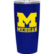 RFSJ University of Michigan Cobalt Blue Endure Stainless Steel Double Wall Tumbler