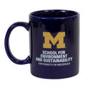 RFSJ University of Michigan School for Environment and Sustainability Coffee Mug