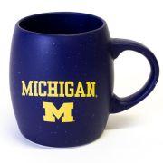 RFSJ University of Michigan Navy Speckled Rustic Coffee Mug