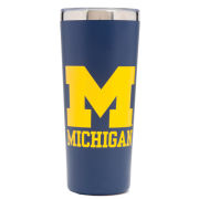 RFSJ University of Michigan Navy Stainless Steel Vacuum Tumbler