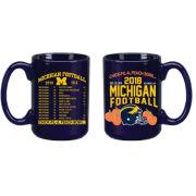 RFSJ University of Michigan Football Peach Bowl Navy Coffee Mug