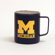 RFSJ University of Michigan Navy Vacuum Insulated Stainless Steel Camping Mug