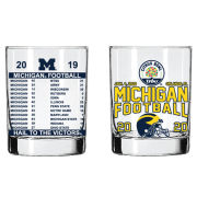 RFSJ University of Michigan Football 2020 Citrus Bowl Rocks Glass