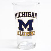 RFSJ University of Michigan Alumni Pint Glass