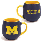 RFSJ University of Michigan Navy/Yellow Matte Welcome Mug