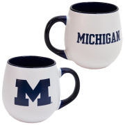 RFSJ University of Michigan White/Navy Matte Welcome Mug