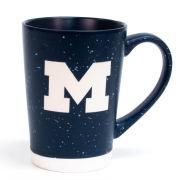 RFSJ University of Michigan Navy Etched Speckled Earthstone Coffee Mug