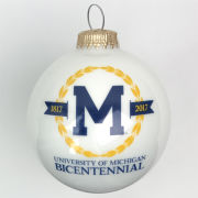 RFSJ University of Michigan Bicentennial Logo Ornament