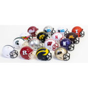 Ridell Set of 16 Big Ten Conference Mini Helmets