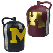 Rivalry Trophy University of Michigan 11'' Replica Little Brown Jug Trophy