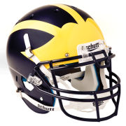 Schutt University of Michigan Football Full Size Authentic Matte Helmet