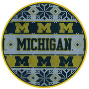 SDS University of Michigan 6 Ugly Holiday Sweater Vinyl Decal
