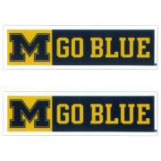SDS University of Michigan 5'' M Go Blue Ultra Durable Dizzlers Decal