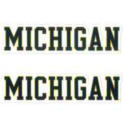 SDS University of Michigan 5'' Block ''Michigan'' Ultra Durable Dizzlers Decal