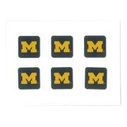 SDS University of Michigan Keyboard Block ''M'' Dizzler Decals