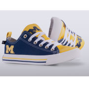 Skicks University of Michigan WOMEN'S Color Block Low-Top Sneakers