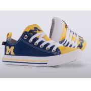 Skicks University of Michigan WOMEN'S Color Block Low-Top Sneakers