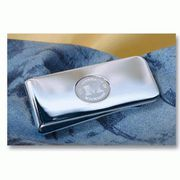 CSI Michigan Silver Money Clip