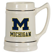 Spirit Products University of Michigan Ceramic Tankard Mug