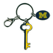 Spirit Products University of Michigan Heritage Keychain