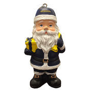 Spirit Products University of Michigan Santa Claus Ornament
