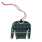 Spirit Products University of Michigan Ugly Holiday Sweater Ornament