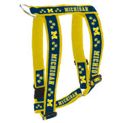 Spirit Products University of Michigan Deluxe Embroidered Dog Harness