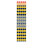 Spirit Products University of Michigan Striped Pencils [5 Pack]