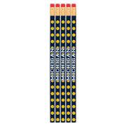 Spirit Products University of Michigan Polka Dot Pencils [5 Pack]