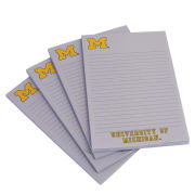 Spirit Products University of Michigan 4 Pack Note Pads